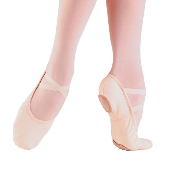 balletschoen canvas
